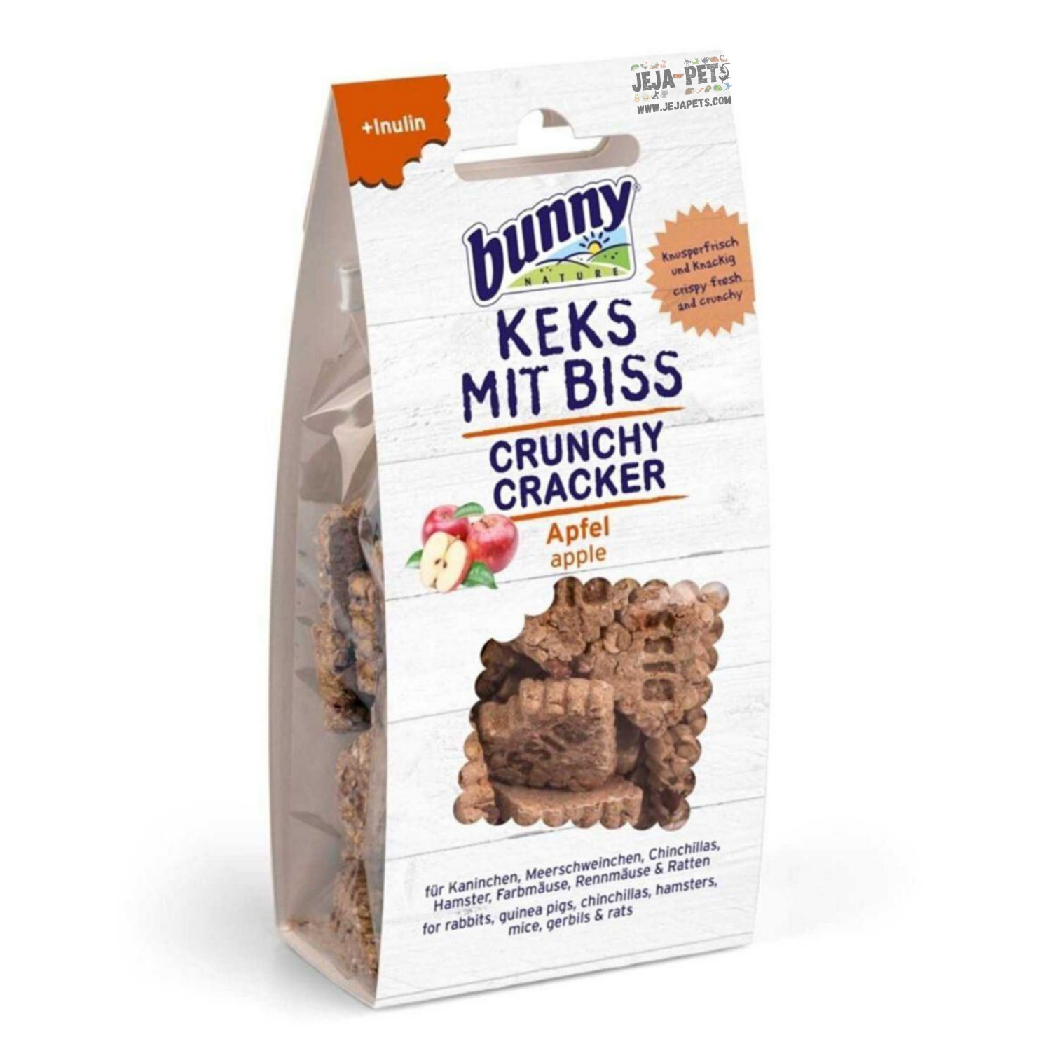 Bunny Nature Crunchy Cracker (Apples) - 50g