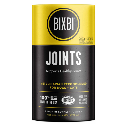 BIXBI Joint Support Powdered Mushroom Supplement - 60g