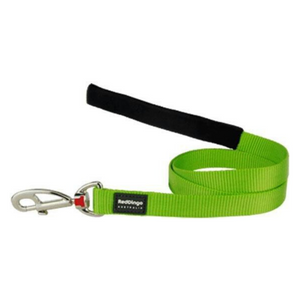 Red Dingo Fixed Dog Leads - Classic Range (Lime Green)