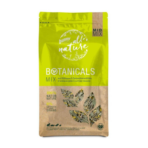 Bunny Nature Botanicals Mid Mix (Echinacea Petals & Sunflower Blossoms) - 140g