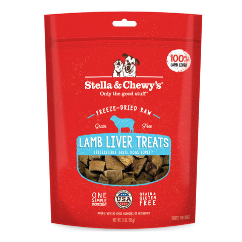 Stella & Chewy's Single Ingredients Treat (Lamb Liver) - 85g