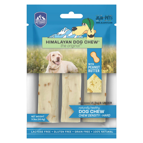 Himalayan Pet Supply The Original Cheese Dog Chew Hard Density - Peanut Butter