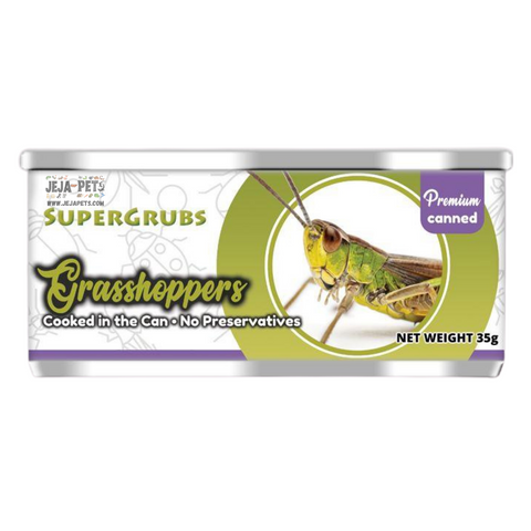 Supergrubs Canned Grasshoppers - 35g