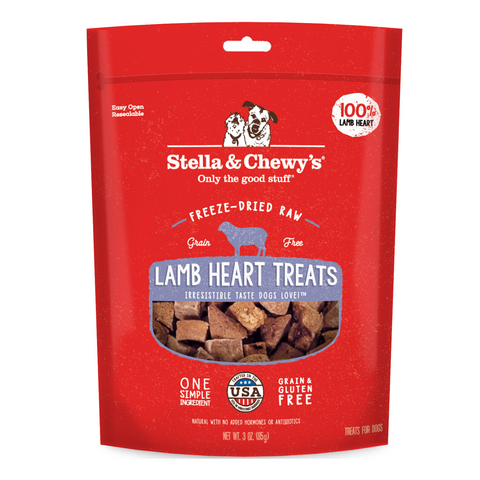 Stella & Chewy's Single Ingredients Treat (Lamb Heart) - 85g