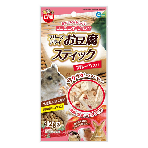 Marukan Freeze Dried Tofu Stick with Fruit for Small Animals - 12g