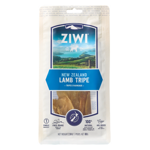 ZIWI Air-Dried Dog Treats - (Lamb Tripe) - 80g