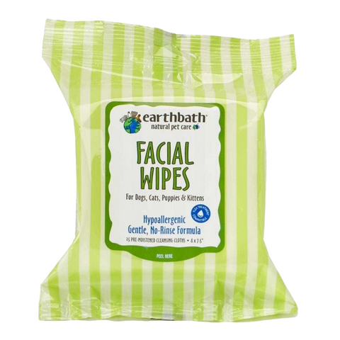 Earthbath Facial Wipes (25 Wipes)