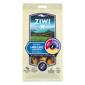 ZIWI Air-Dried Dog Treats - (Lamb Ears) - 60g