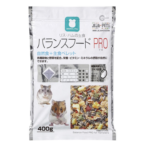 Marukan Pro Balance Food for Syrian Hamsters - 400g