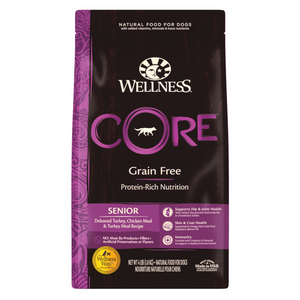 Wellness CORE for Senior Dogs - (Deboned Turkey, Chicken Meal and Turkey Meal) - 1.81kg / 5.44kg / 10.89kg
