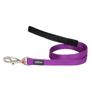 Red Dingo Fixed Dog Leads - Classic Range (Purple)