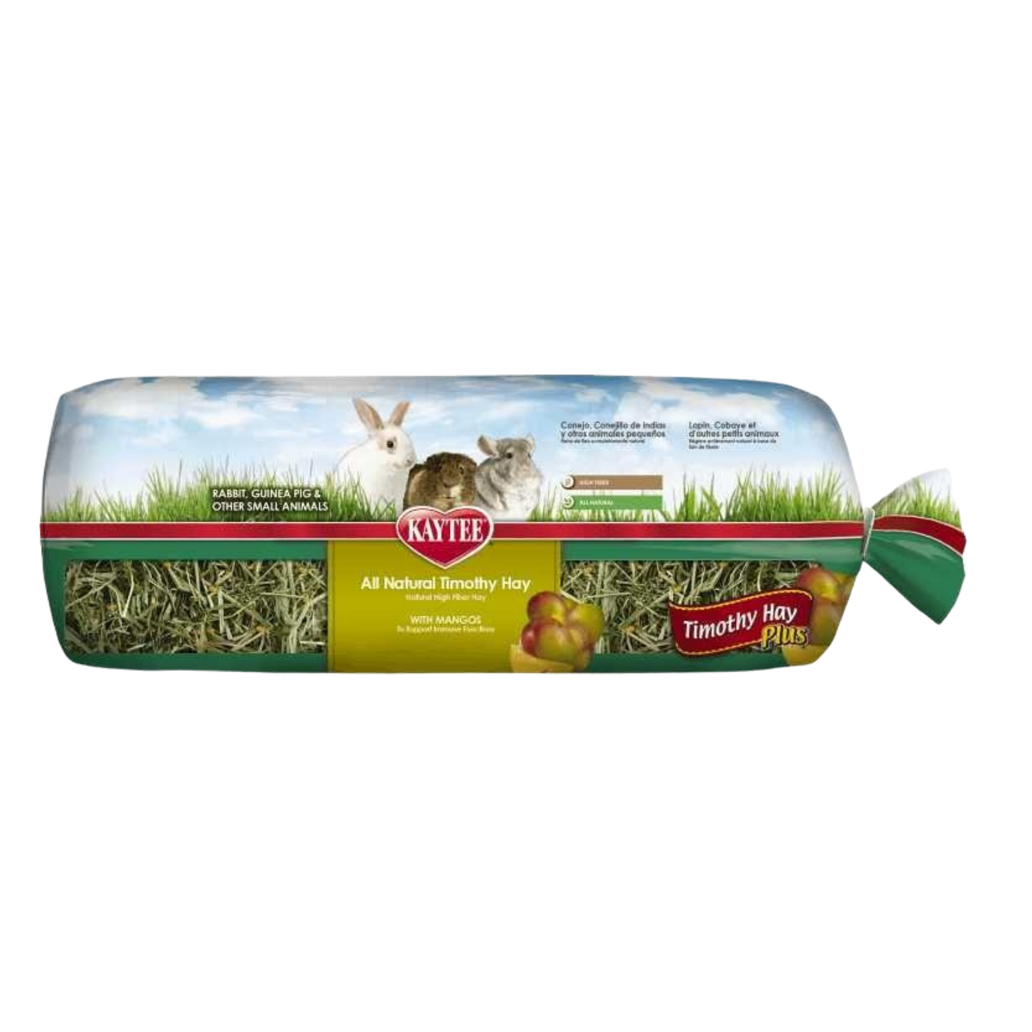 Kaytee Timothy Hay Plus (Mango) Mini Bale - 680g