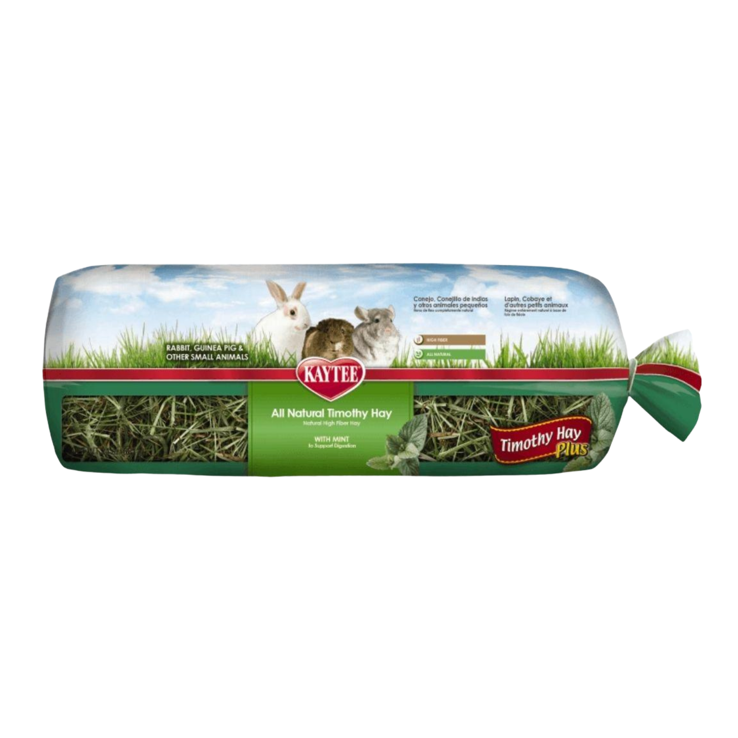 Kaytee Timothy Hay Plus (Mint) Mini Bale - 680g