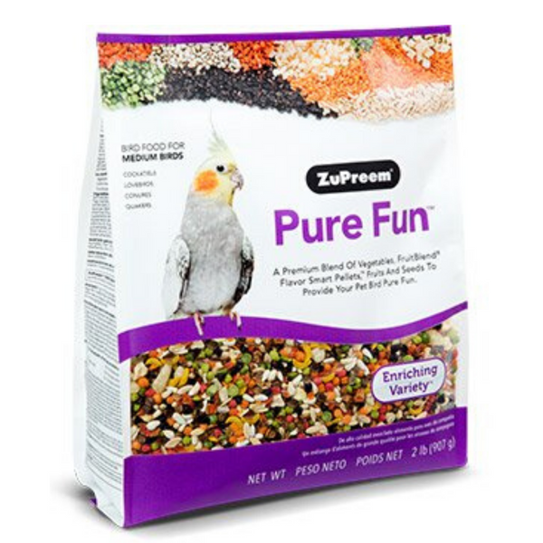 ZuPreem Pure Fun - Medium Birds - 907g