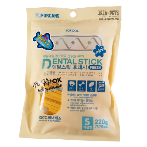 Forcans Dental Stick Fresh with Omega - S / M (220g)