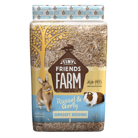 Supreme Tiny Friends Farm Russel & Gerty Supasoft Bedding - 17L