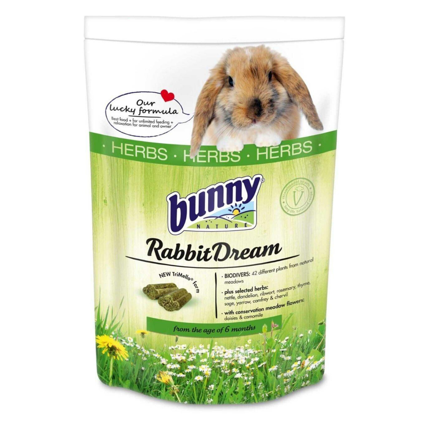 Bunny Nature Rabbit Dream Herbs - 750g / 1.5kg