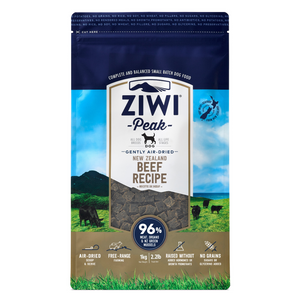 ZIWI Peak Air-Dried (Beef) Dog Food - 454g / 1kg / 2.5kg / 4kg