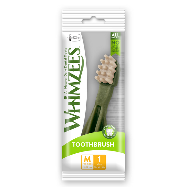 Whimzees Toothbrush - M