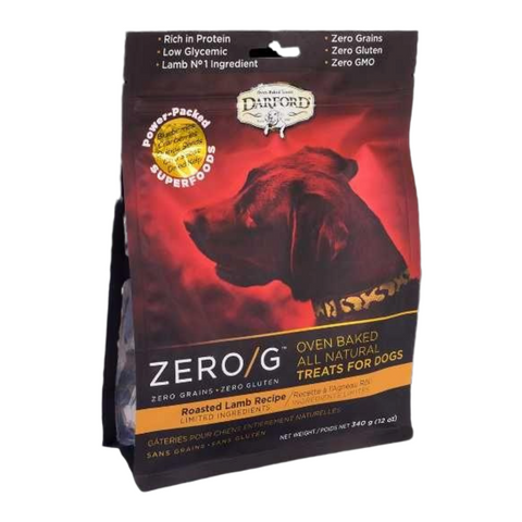 Darford Zero/G (Roasted Lamb) for Dogs - 170g / 340g