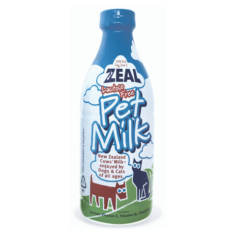 Zeal Lactose Free Pet Milk - 380ml / 1l