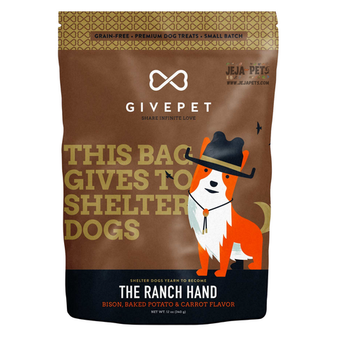 GIVEPET The Ranch Hand (Bison, Baked Potato & Carrot) Flavor - 340g