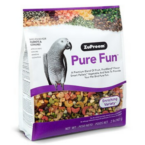 ZuPreem Pure Fun - Parrots & Conures - 907g