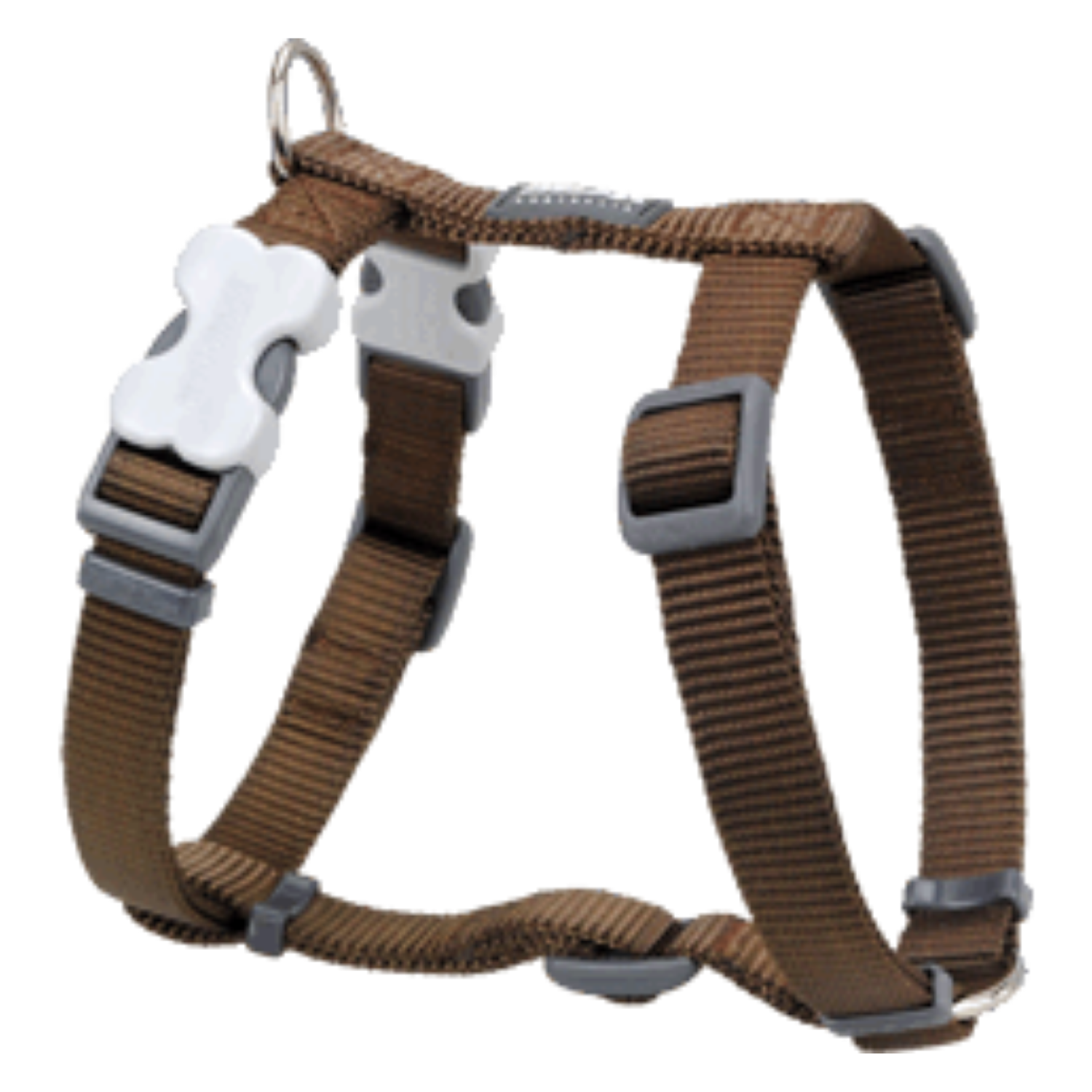 Red Dingo Dog Harness - Classic Range (Brown)