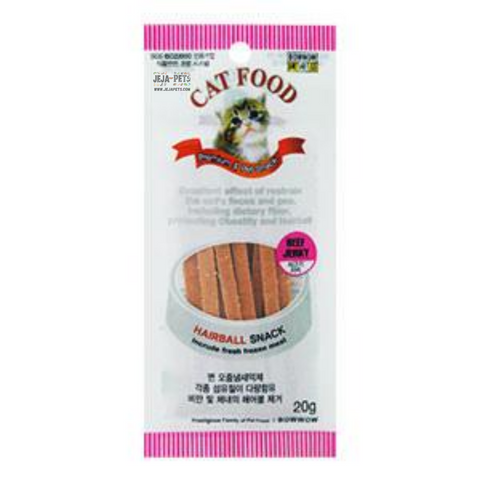 Bow Wow Beef Slice Cat Treat - 20g