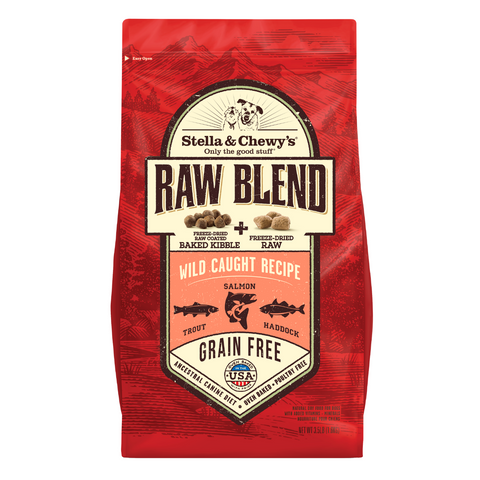 Stella & Chewy's Raw Blend (Wild Caught) - 1.59kg / 9.98kg