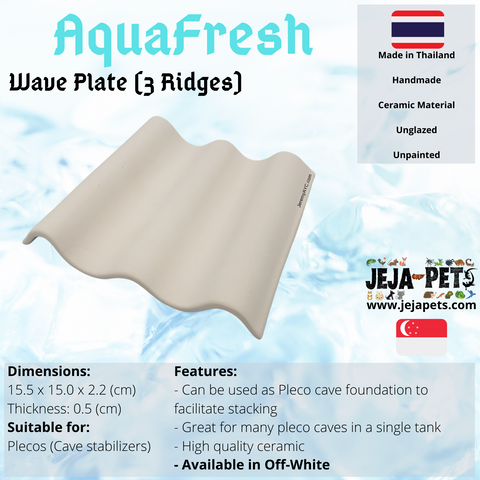 Aquafresh Wave Plate (3 Ridges)