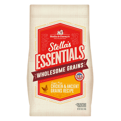 Stella & Chewy's Stella's Essentials Cage-Free (Chicken & Ancient Grains) Recipe - 1.36kg / 11.34kg
