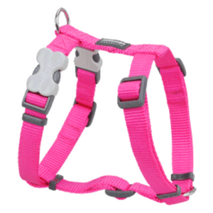 Red Dingo Dog Harness - Classic Range (Hot Pink)