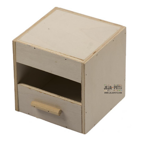 Duvo+ Nest Box Exotiques 1/3 Open For Aviaries - 13 x 12 x 12 cm