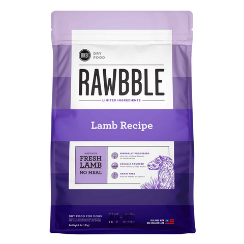 BIXBI Rawbble Lamb Dry Dog Food - 1.81kg / 10.88kg