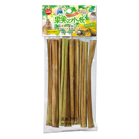 Marukan Papaya Tree Twigs - 10pcs