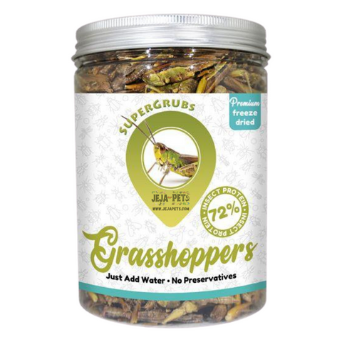 Supergrubs Freeze Dried Grasshoppers - 75g / 400g