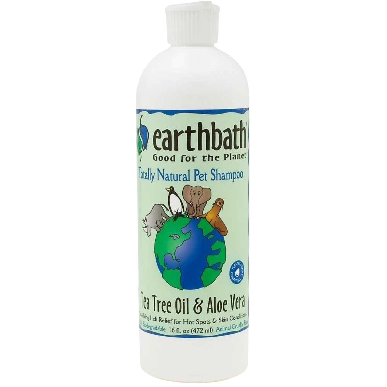 Earthbath Hot Spot Relief Shampoo (Tea Tree Oil & Aloe Vera)