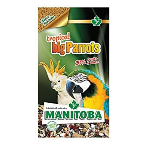 Manitoba Tropical Big Parrot - 2kg