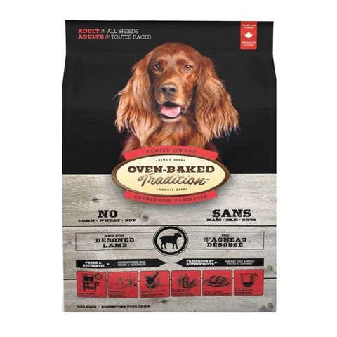 Oven Baked Tradition (Lamb) for Adult Dogs - 2.27kg / 5.67kg / 11.34kg