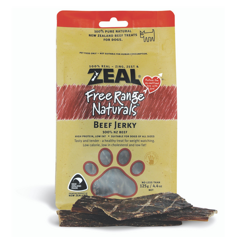 [DISCONTINUED] Zeal Free Range Naturals Beef Jerky / Fillets - 125g (BUY 2 GET 1 FREE)