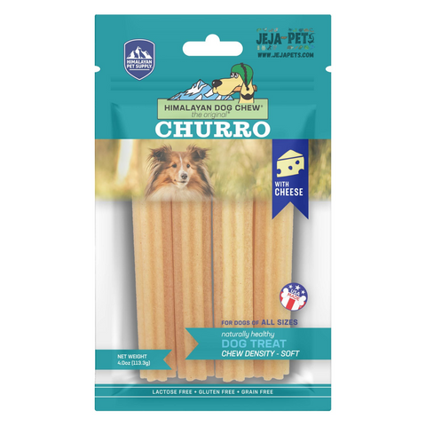 Himalayan Pet Supply Churro Cheese Soft Density Dog Chew - 113.3g