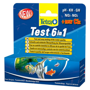 Tetra Test 6 in 1 - 25 Strips