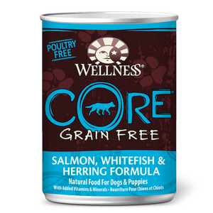 Wellness CORE Grain-Free Pate - (Salmon, Whitefish & Herring)