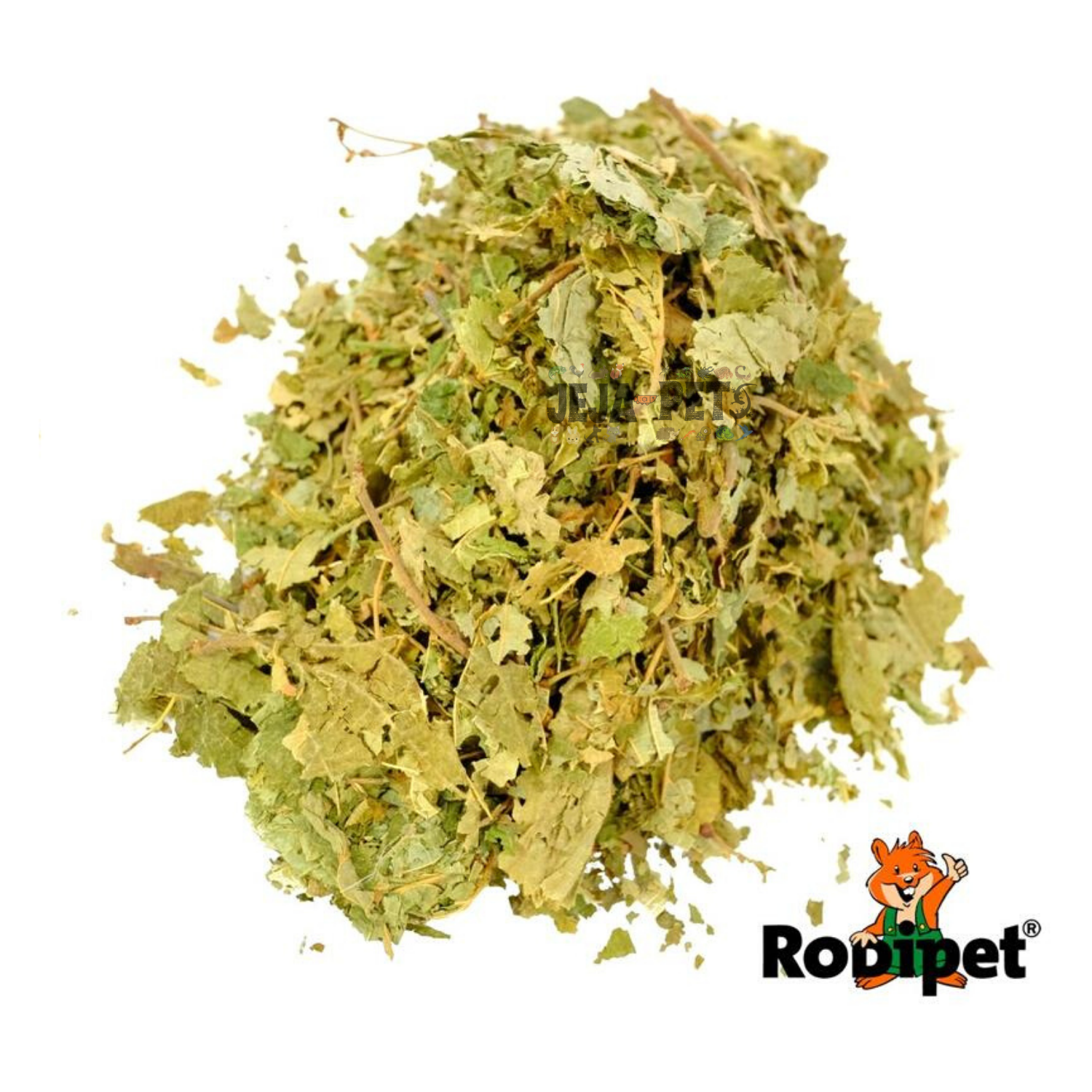 Rodipet Nature's Treasures Hazel Leaves - 80g