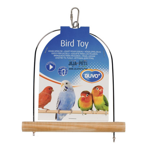 Duvo+ Wooden Bird Swing