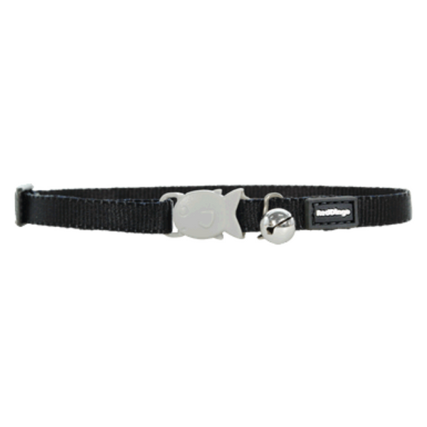 Red Dingo Cat Collars - Classic Range (Black)