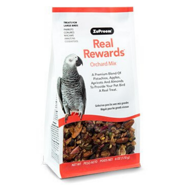 ZuPreem Real Rewards Orchard Mix - Large Birds - 170g