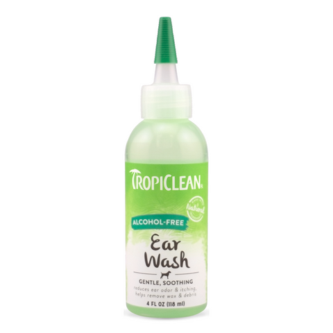 Tropiclean Alcohol-Free Ear Wash - 118ml
