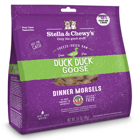 Stella & Chewy's Dinner Morsels (Duck, Duck, Goose) - 227g / 510g